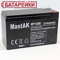 Аккумулятор 12V 9Ah Mastak (MT1290 / 6FM9)
