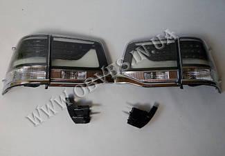 Задні діодні ліхтарі Toyota Land Cruiser 200 2016+ (Smoke)
