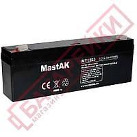 Аккумулятор 12V 2.3Ah Mastak (MT1223 / 6FM23)