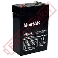Аккумулятор 6V 2.8Ah Mastak (MT628 / 3FM2.8)