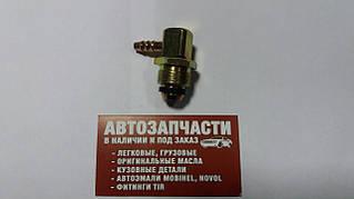 Штуцер різьбовий кутовий (обертається) М22х1.5 під шланг Д=8