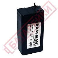 Аккумулятор 4V 1Ah Bossman-Profi (2FM1.0)
