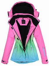 Лыжный костюм WHITE-PINK, фото 3