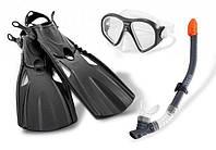 Набор с ластами для подводного плавания 41-45 размер