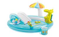 Водный игровой надувной центр Аллигатор 203 х 173 х 89 см