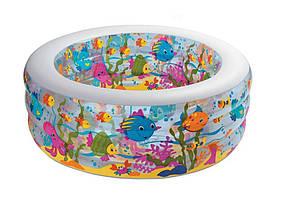Прозрачный надувной бассейн для детей от 3 лет