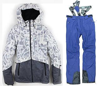 Лыжный костюм BLUE-WHITE