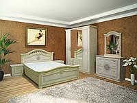 """Модульна спальня """"Діана"""" від Світ меблів (""""піно беж / піно беж лак )., фото 1"""