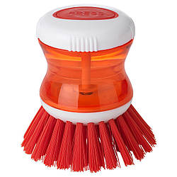 IKEA TARTSMET (403.726.25) Щетка для очистки с дозатором, красная