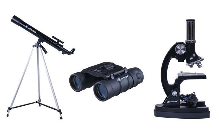 Телескоп + мікроскоп + бінокль OPTICON