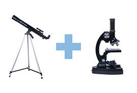 Телескоп + мікроскоп SCIENCE MASTER, фото 2