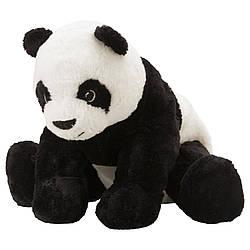IKEA KRAMIG (302.213.16) Мягкая игрушка, белая, черная
