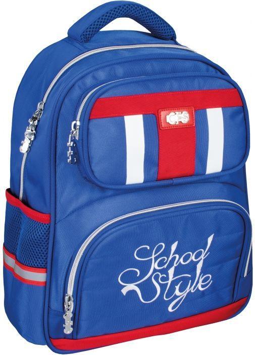 1246a90362c8 Школьный рюкзак Cool for school School Style, Blue, 400 CF86139 13 л, синий