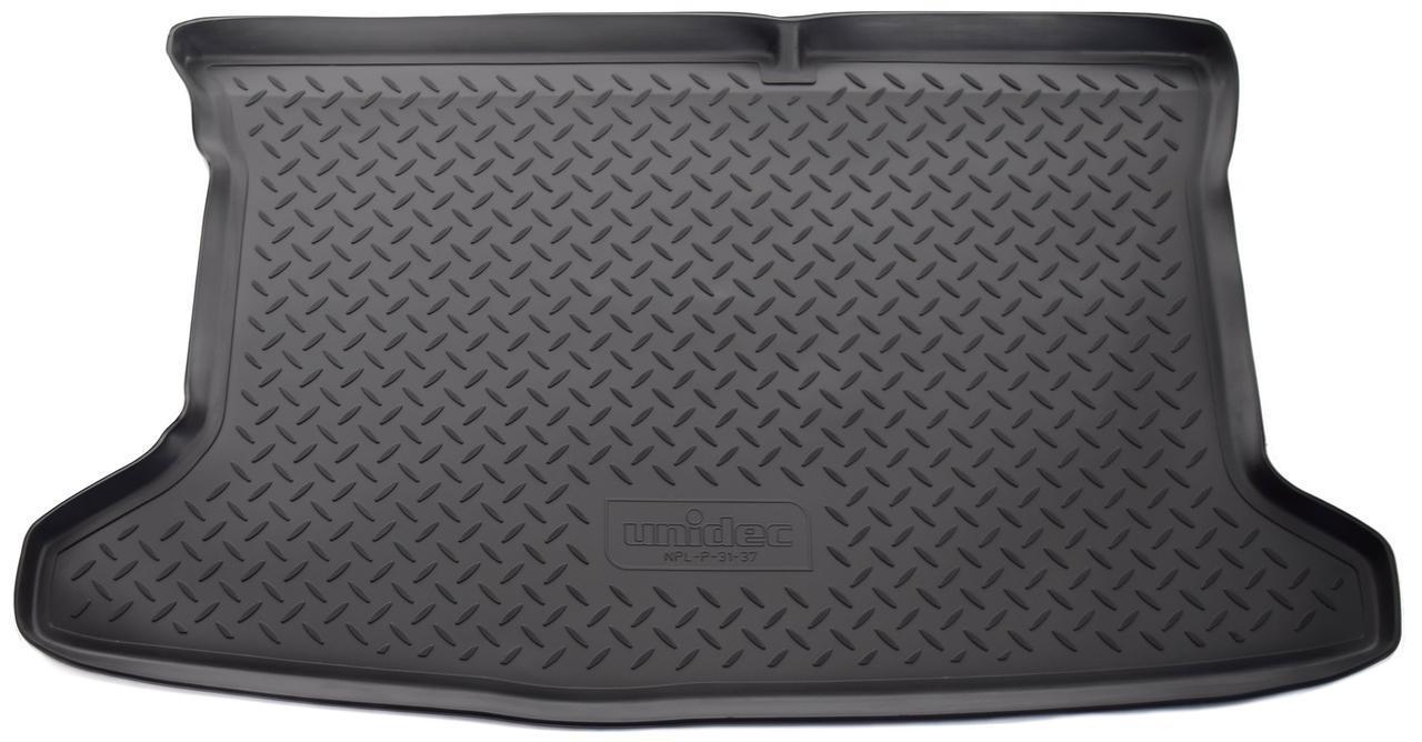 Коврик в багажник для Hyundai Solaris HB (11-) полиуретановый NPL-P-31-37