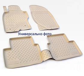 Коврики в салон для Lexus GS AWD (L10A) (12-) (полиур., компл - 4шт) цвет бежевый. NPA10-C47-120B