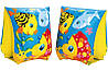 Нарукавники Intex 58652 Нарукавники Веселые рыбки PS, фото 2