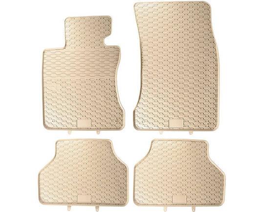 Резиновые автомобильные коврики BMW E60 E61 2002-2010, фото 2