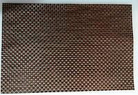 Коврик для сервировки стола черно- коричнего цвета 450*300 мм