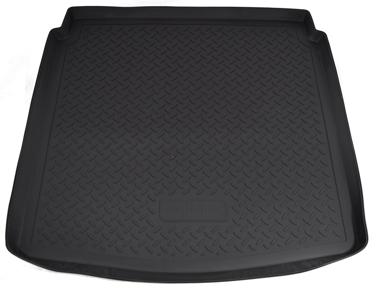 Коврик в багажник для Audi A4 (B8 8K) SD (07-15) полиуретановый NPL-P-05-02