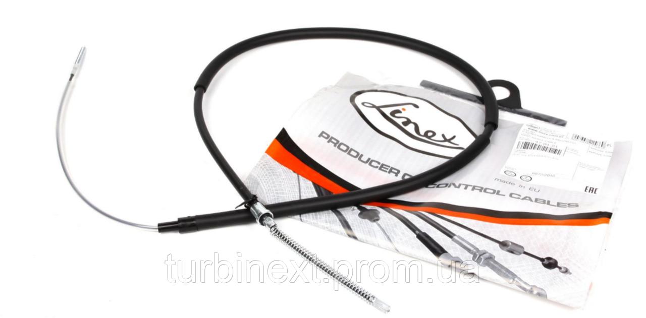 Трос ручника VW Caddy 96-03 (1670/1122mm) LINEX 47.01.21