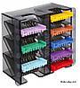 Набор цветных насадок WAHL 1247-7440 со стальными зубцами к роторным машинкам Moser, Wahl, фото 2