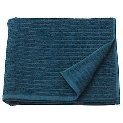IKEA VAGSJON (503.536.07) Банное полотенце, темно-синий