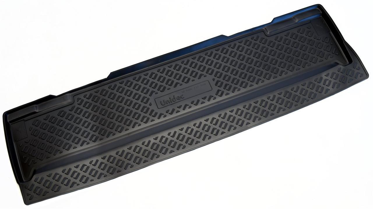 Коврик в багажник Chevrolet Tahoe (06-14) полиуретановый  7мест разложен.3ряд