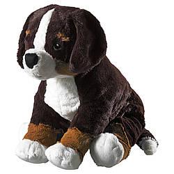 IKEA HOPPIG (902.604.42) Плюшевая, собака, бельгийская собака