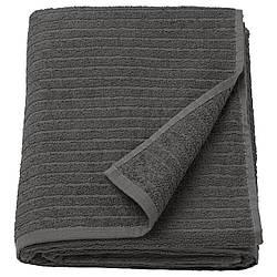 IKEA VAGSJON (503.536.12) Банное полотенце, темно-серый