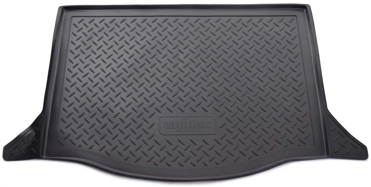 Коврик в багажник Honda Jazz (GG) HB (09-) полиуретановый