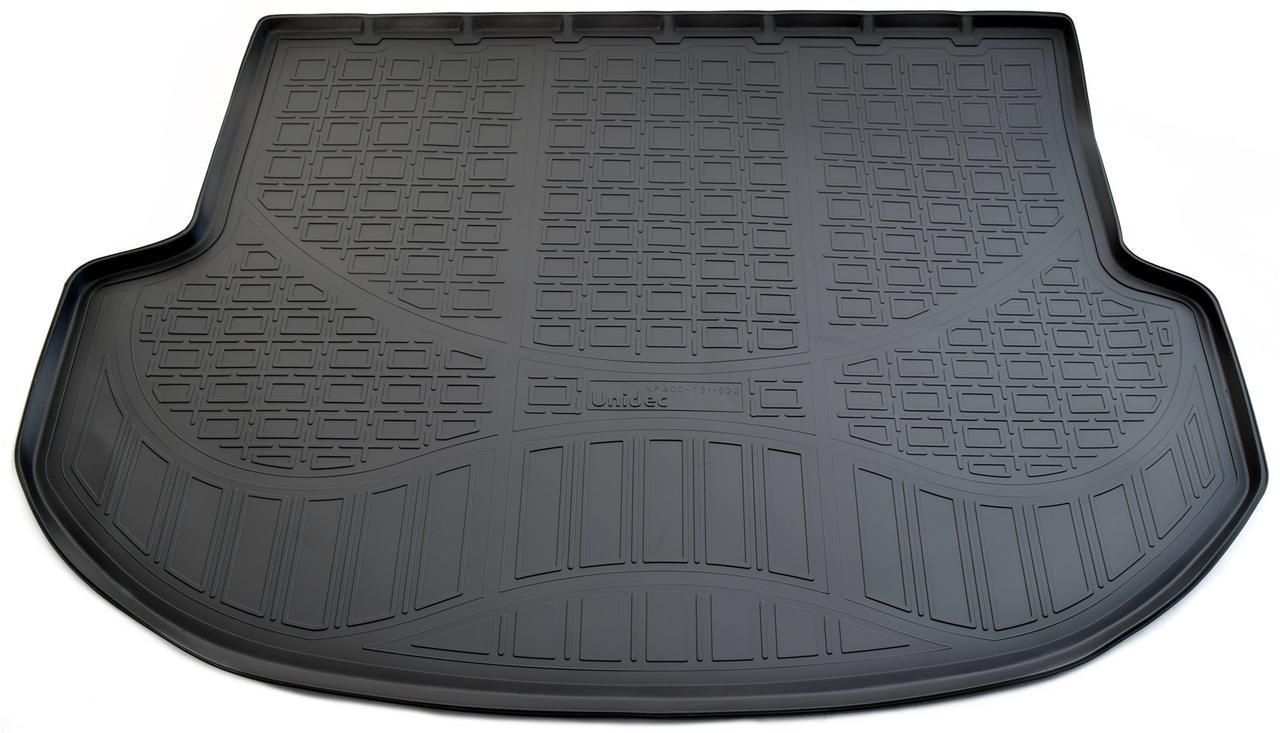 Коврик в багажник Hyundai Santa Fe (DM) (5 мест) (12-) полиуретановый