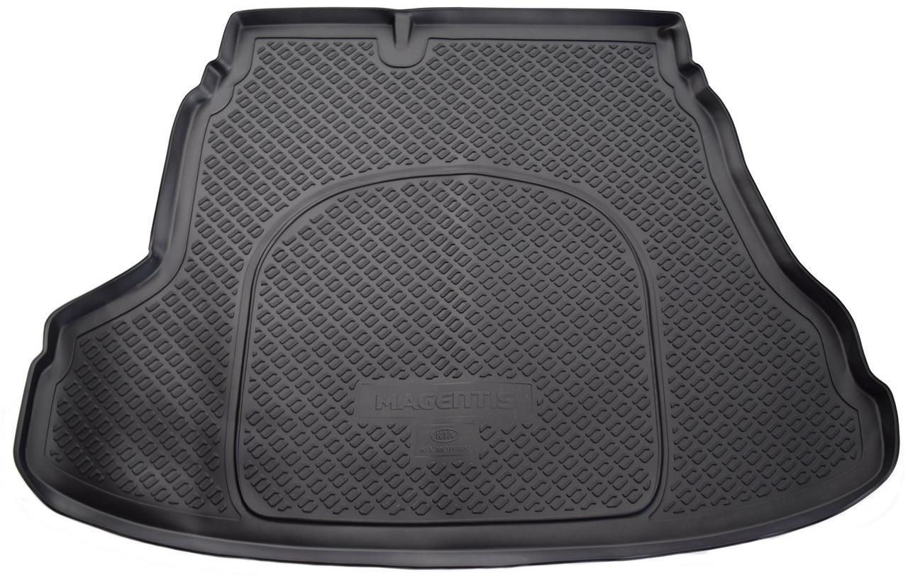 Коврик в багажник Kia Magentis (GE) SD (06-10) полиуретановый