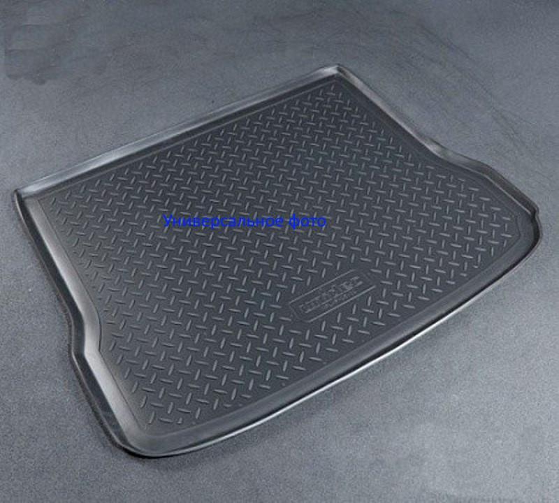 Коврик в багажник Kia Sorento (15-) полиуретановый  (сложенный 3ряд)