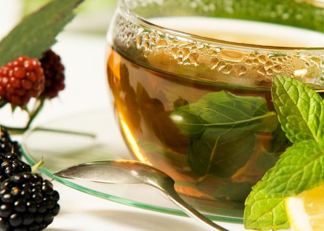 Зелений чай з добавками