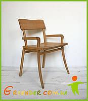 Стілець КЛЕН/ стул деревянный ручной работы БУК, фото 1