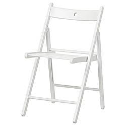 IKEA TERJE (802.224.41) Складной стул, белый