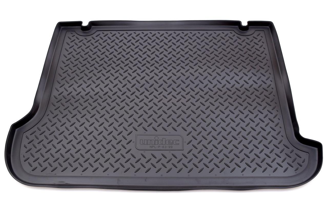 Коврик в багажник Opel Combo (01-12) полиуретановый