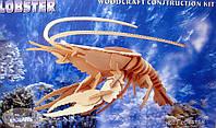 Конструктор деревянный sea-land ЛОБСТЕР 4-е пластины