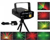 Лазерный проектор Mini Laser Stage YX-036