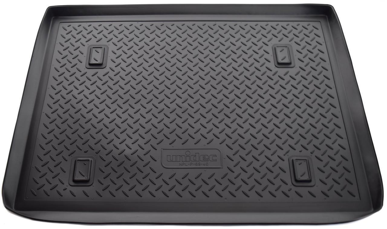 Коврик в багажник Renault Kangoо (05-10) полиуретановый