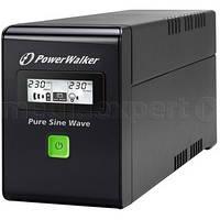 Блок питания POWERWALKER UPS VI 800 sw/fr Line-interactive, 800va