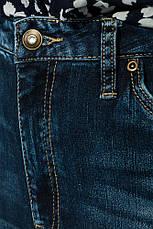 Джинсы женские всесезонные, прямые 250V001-1 (Синий), фото 3