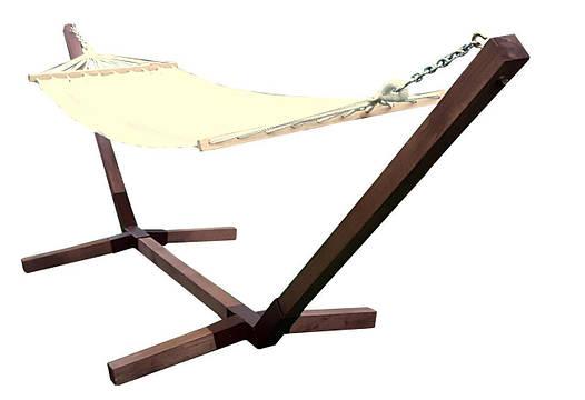 Гамак с деревянной рамой MOTYL 200x80 см, фото 2