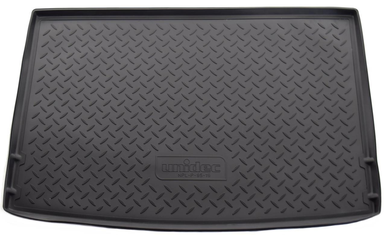 Коврик в багажник Volkswagen Golf+ HB (09-) полиуретановый