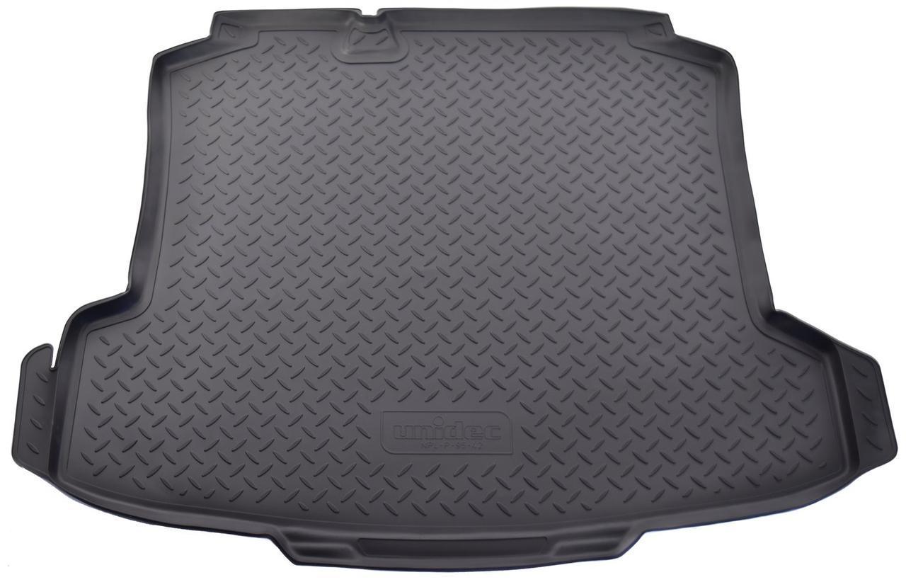 Коврик в багажник Volkswagen Polo SD (10-) полиуретановый