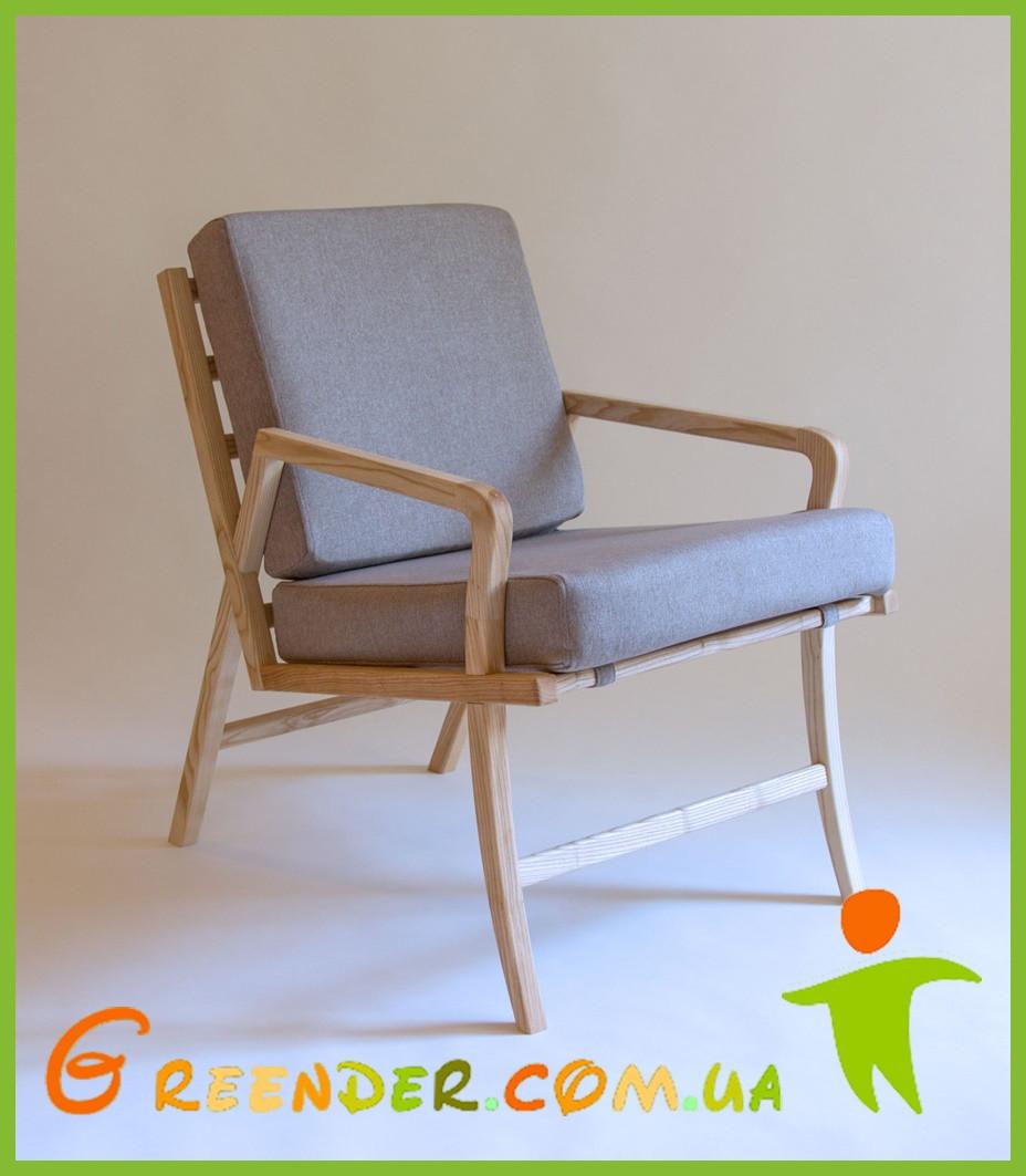 Крісло ФИСТ/ кресло деревянное ручной работы ЯСЕНЬ