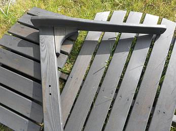 Деревянный стул-шезлонг Ambientehome, фото 2