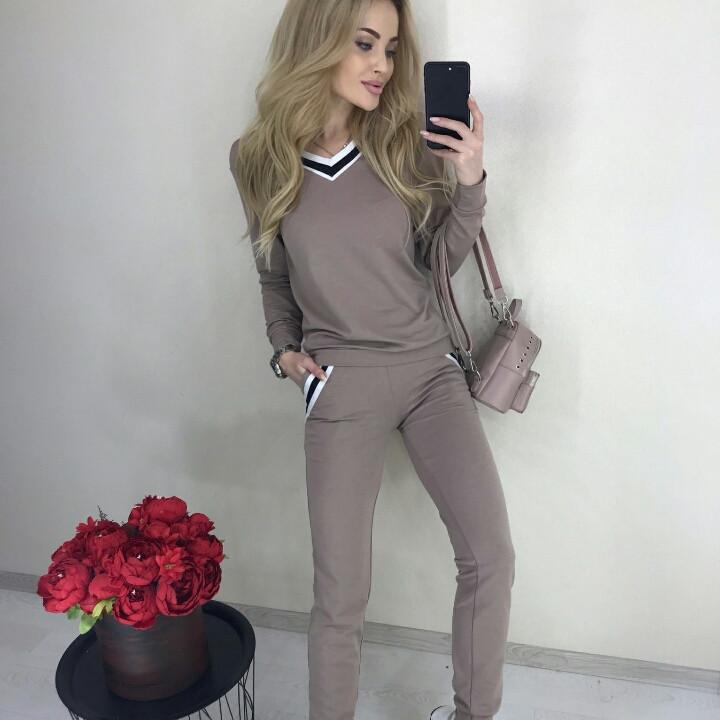 Спортивный женский костюм мод. 1004р.42-44  и 44-46