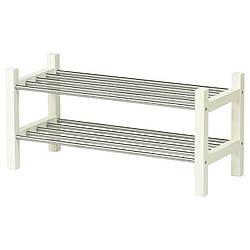 IKEA TJUSIG (301.526.38) Полка для головных уборов, белая