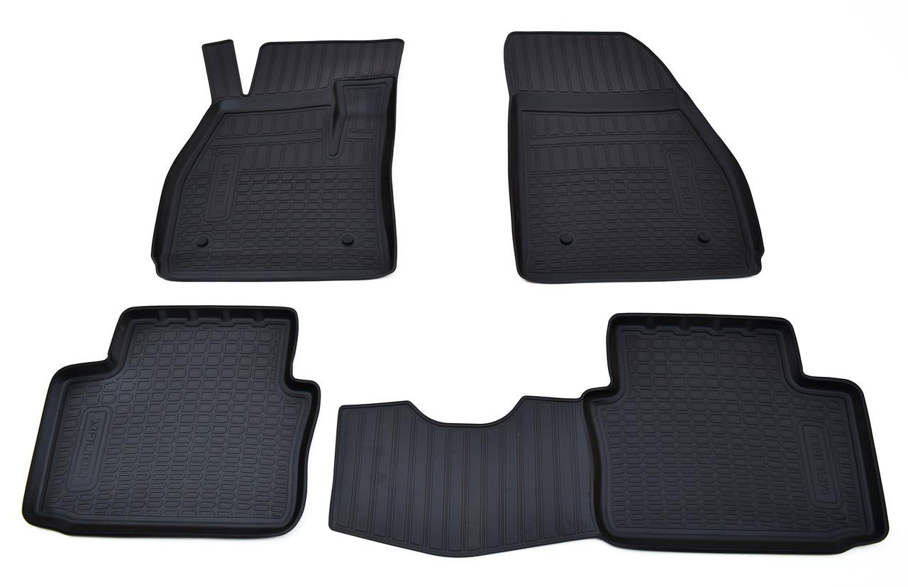 Коврики в салон для Chevrolet Malibu (12-) (полиур., компл - 4шт) NPA11-C12-450